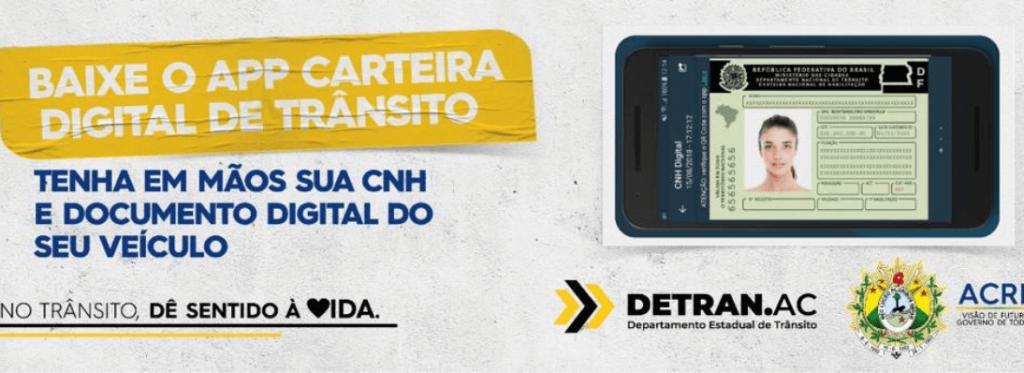 Baixe o aplicativo Carteira Digital de Trânsito e tenha em mãos sua CNH, CRLV e desconto em multas